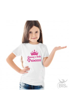 "Girl's T-Shirt ""Granny's Little Princess"""