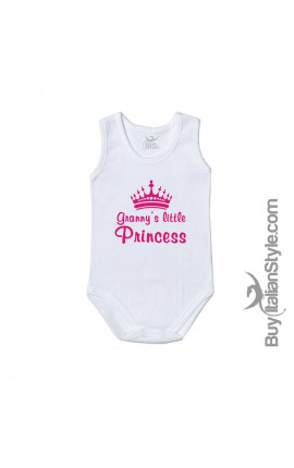 "Baby Bodysuit ""Granny's Little Princess"""