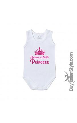 "Baby Bodysuit ""Granny's Little Princess"""
