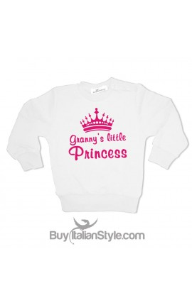"Little Girl Sweatshirt ""I'm the Grandparents' Princess"""