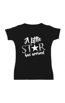 "Girl's T-Shirt ""A Little Star has arrived"""