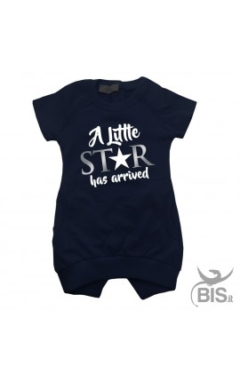 "Girl's Sweatshirt Dress ""A Little Star has arrived"""