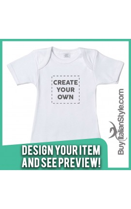Personalized Baby Bodysuit Configuration