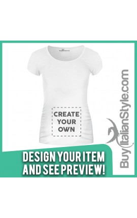 Personalized Maternity T-Shirt Configuration