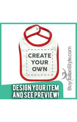 Personalized Baby Bib Configuration
