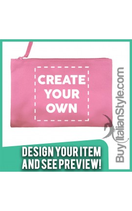 Personalized Canvas Pochette - Configurator