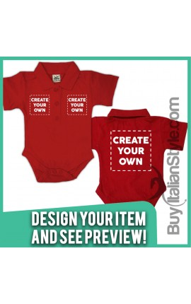 Personalized Polo Shirt Bodysuit Configuration