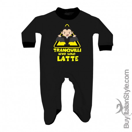 """Baby Romper """"Only kisses,please"""""""