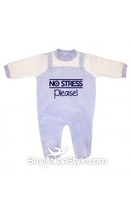"""Tutina neonato in ciniglia """"No stress please!"""""""