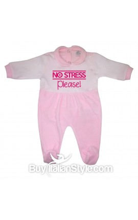 "Tutina neonata in ciniglia ""No stress please!"""
