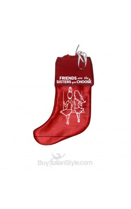 "Epiphany Stocking ""Friends are the sisters you choose"""