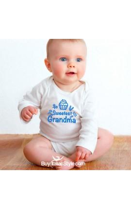 "Baby Bodysuit ""Sweetest Grandma"""