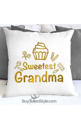 "Pillowcase ""Sweetest Grandma"""