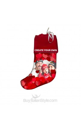 "Personalized Epiphany Stocking ""name & photo"""