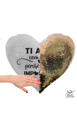 Magic Personalized Hearth Pillowcase Paillettes