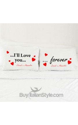 Personalized Forever Love Pillowcases