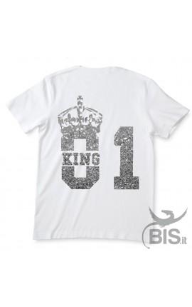 """Man t-shirt """"KING"""""""