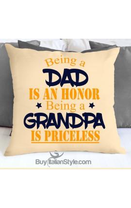 "Federa cuscino ""Nessuna è dolce come te nonna"""