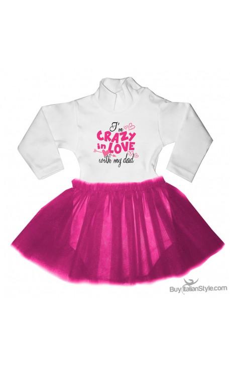 "Tutu Dress ""I'm crazy in love with my Dad"""