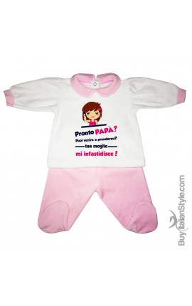 """NEWBORN BABY 2-PIECE SET """"Well done Mom! I'm Awesome"""""""
