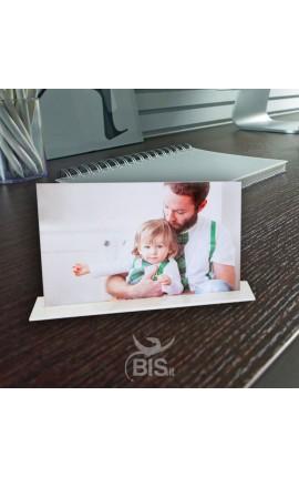 Targhetta in plexiglass da personalizzare con foto
