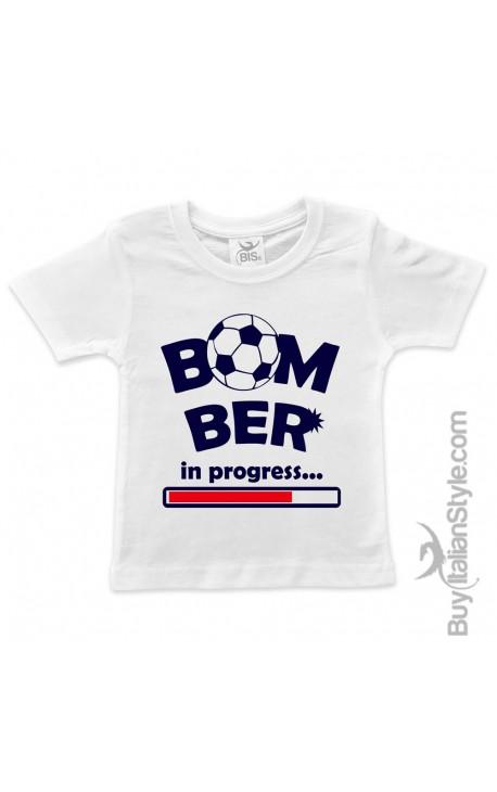 "T-shirt bimbo ""Bomber in progress"""