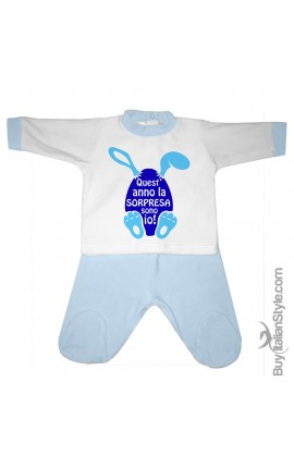 "NEWBORN BABY 2-PIECE SET ""Well done Mom! I'm Awesome"""