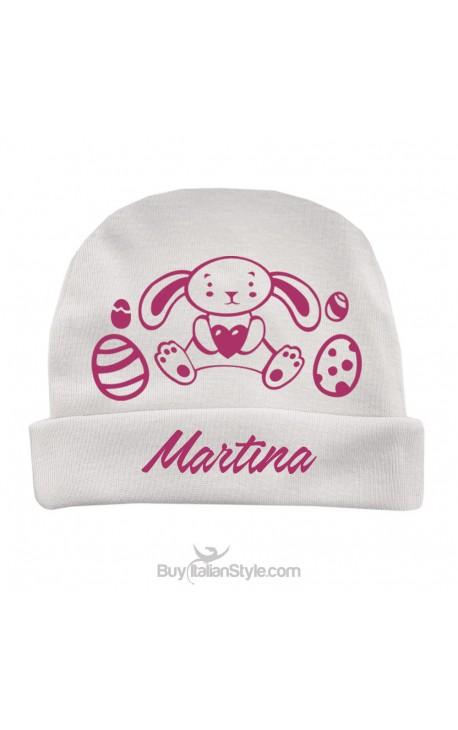 modellazione duratura stile moderno buono sconto Cappellino personalizzabile con nome e coniglietto