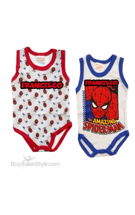 "Coppia body ""The amazing Spiderman"""