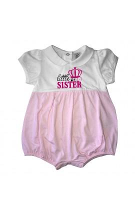 """Pagliaccetto bi-colore """"Little sister"""""""