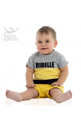 "Baby Boy Striped Set ""Rebel\"""