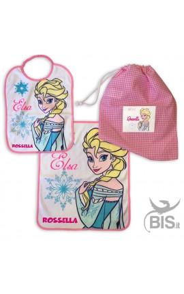 Kit asilo bimba con Elsa da personalizzare
