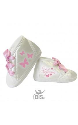 Scarpine da culla neonata personalizzabile
