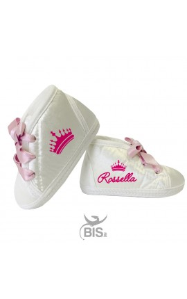 """Custom Baby Shoes """"Name+Butterfly"""""""