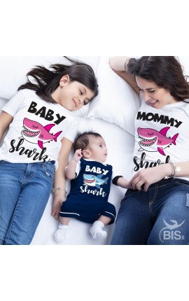Family Shark Family T- Shirt Set