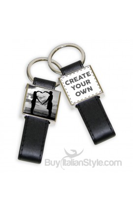 Personalized Leather KEY HOLDER Configuration