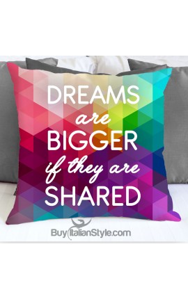 "Love pillowcase ""Dreams..."""