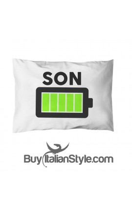 """Pillowcase """"Son Full Battery"""""""