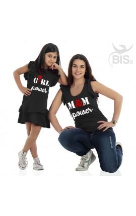Coordinato Mom & Girl POWER