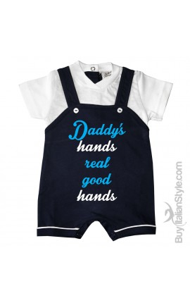 "Baby romper ""5 minutes of dad, 9 months of mum and now so cute here I am"