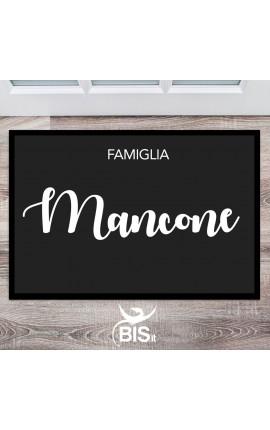 Zerbino personalizzabile con il cognome della tua famiglia
