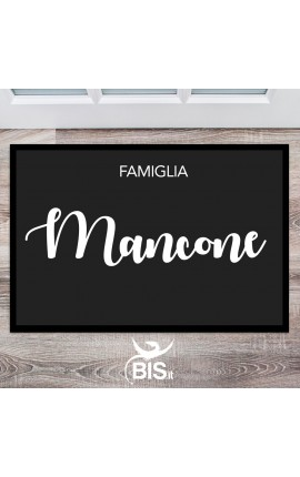 Doormats / indoor to customize with family' surname
