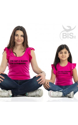 Mom and Daughter Matching Shirts Set