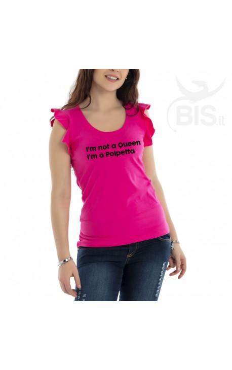 """Women's T-Shirt """"I'm not a Queen I got this handled"""""""
