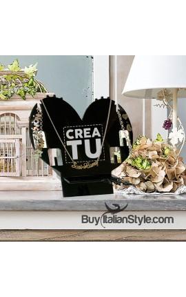 Porta gioielli in plexiglass da personalizzare