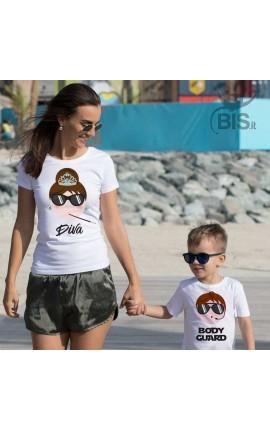 "T-shirt bimbo   ""BODYGUARD"""