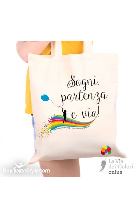 "Shopping Bag ""Life Takes..."