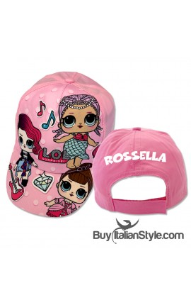 PERSONALIZABLE Cap for adults and children