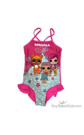 "Girl's One Piece Swimsuit ""Princess"""
