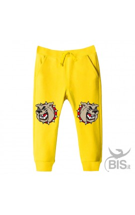 Sweatpants for babies and children with print